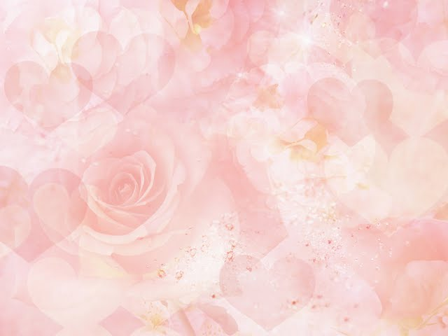 Pastel And Dreamy Roses Heart Shapes Wallpaper 102805
